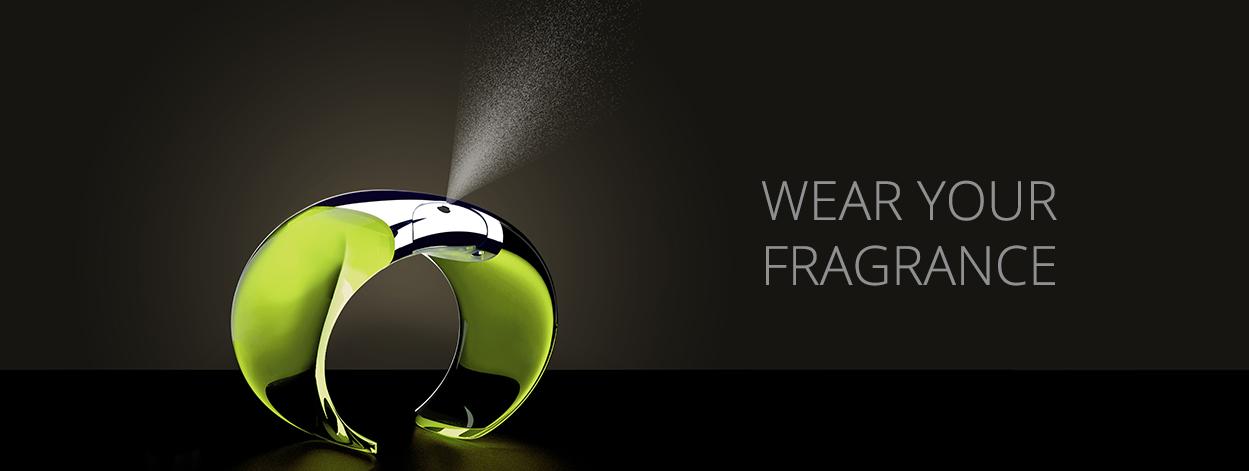 Armida: the First Fragrance Bracelet designed By Massimo Farinatti & Andrea Rovatti