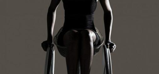nuova sedia a rotelle disegnata da Benjamin Hubert
